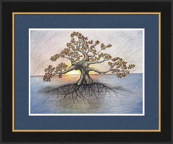 Image of Tree of Life Framed Archival Paper Print 24 x 18 inches